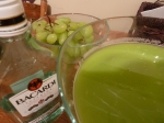 Green Halloween punch