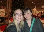 Cheryl and I in front of festive.