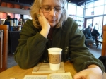 Mandatory trip to Chapters for coffee and book reading.