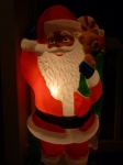 My parents are very proud of their multicultural Santa.