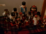 Terrifying Army of Nutcrackers.