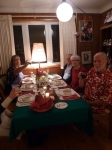 Christmas Dinner with the Fam (minus pop)