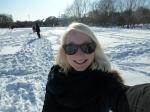 Snowy Selfie.