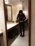 Bathroom Paparazzi!