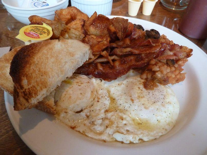 Brunch at Rebel House - The Tavern Breakfast