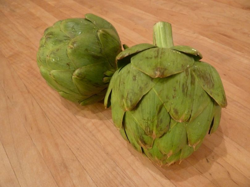 These beautiful babies are artichokes. And Imma eat them.