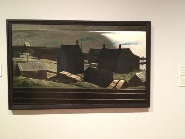 Dark and brooding barns