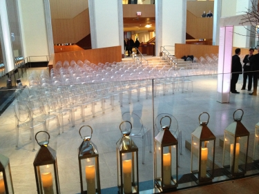 GENIUS having a wedding at the AGO. so pretty.