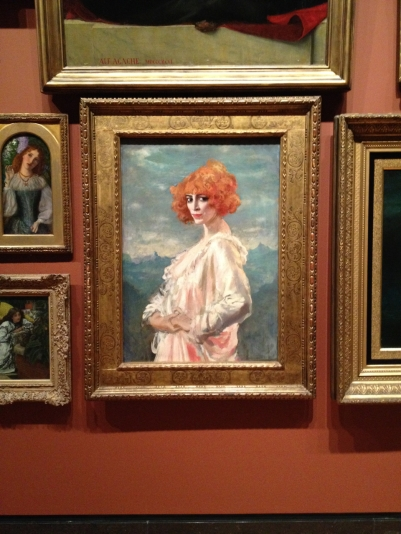 My favourite painting in the entire AGO. I call her Florence. I bought a magnet of her.