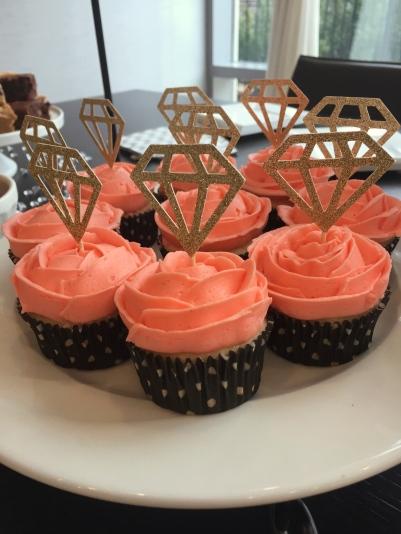 Lemon Bling Cupcakes