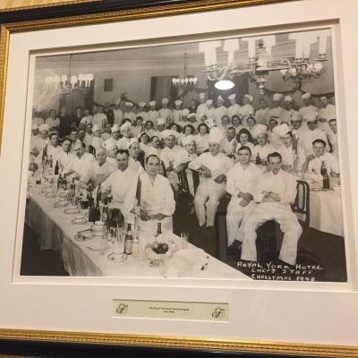 Chef Staff - Christmas 1948